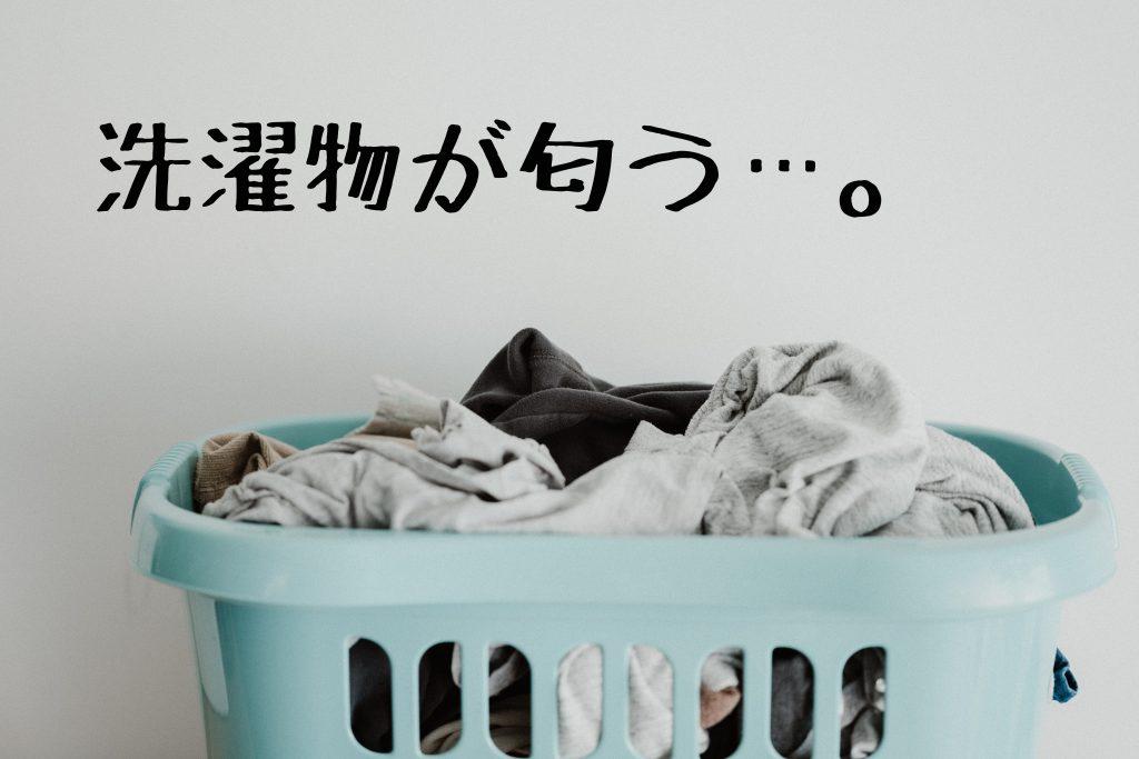 洗濯物が臭い!【においの原因と家庭で出来る対策とは?】