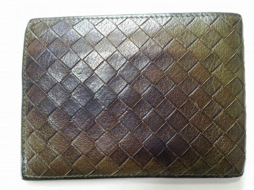 革財布のクリーニングとカラーリング
