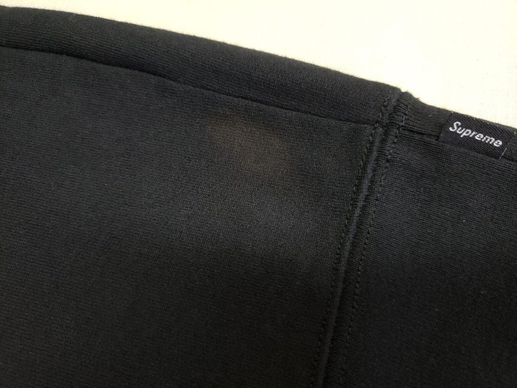 【修復事例】シュプリームトレーナーの脱色【完全には直りません。】